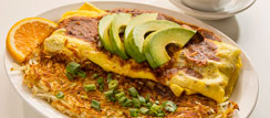 Fajita Steak Omelette
