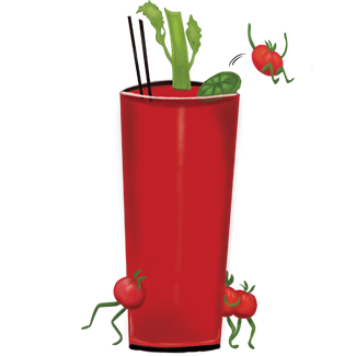 Dancing Tomato Caffé - Famous DTC Bloody Mary