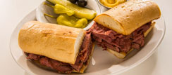 Traditional Pastrami Sandwich