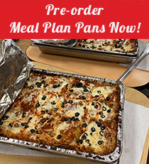 Pre-order Meal Plan Pans Now!